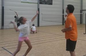 Badminton enfants