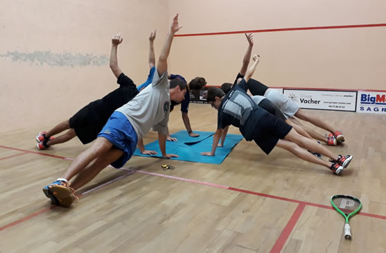 Stages d'été Badminton & Squash