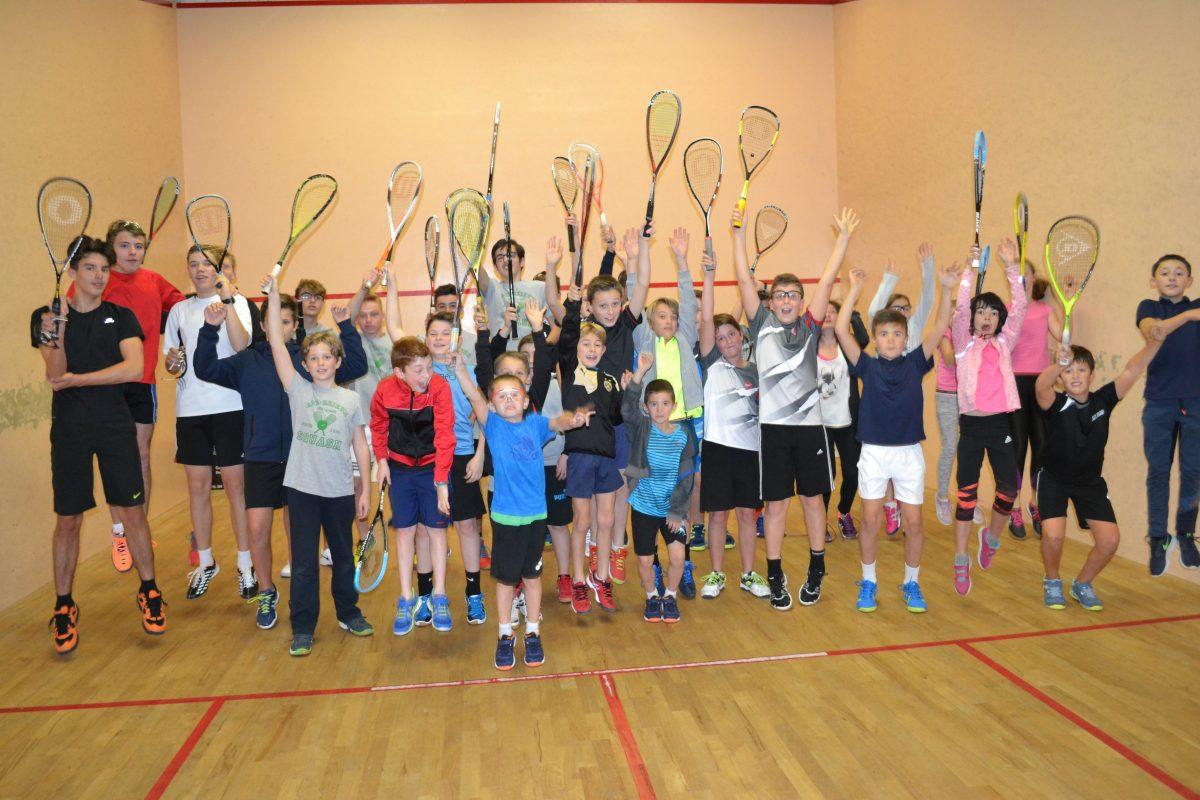Ecole de Squash 18-19. Cours d'Essai Gratuit le 12 sept!