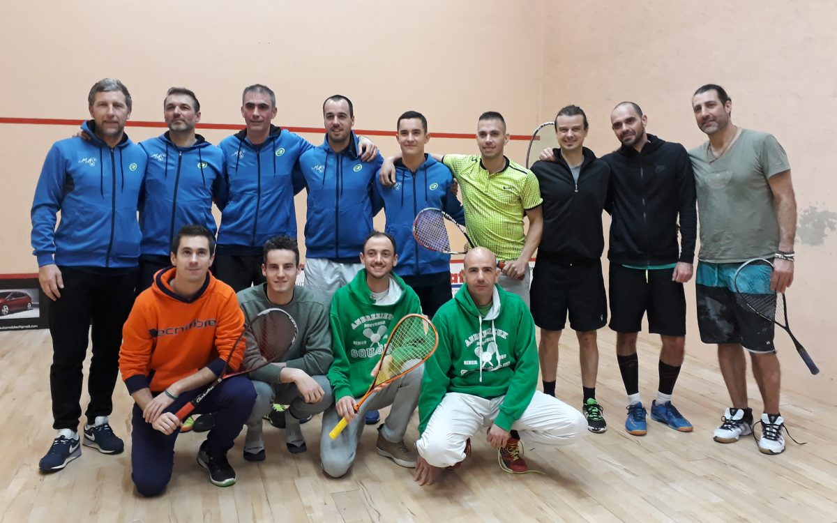 3° journée Squash par Equipes à Andrézieux 10 Mars