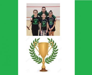 Un trio gagnant au tournoi de Clermont!